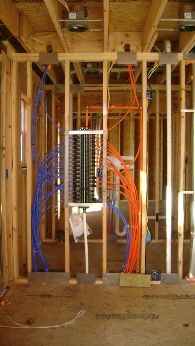 Pex Water Supply Piping Mechanical Amp Insulation Home