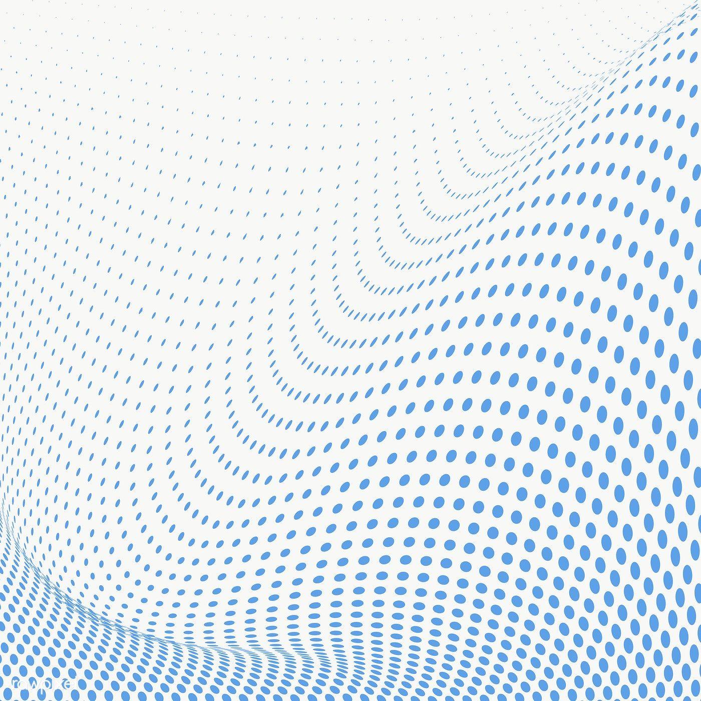 Blue Halftone Dots Design Element Free Image By Rawpixel Com Nunny Halftone Dots Dots Design Design Element