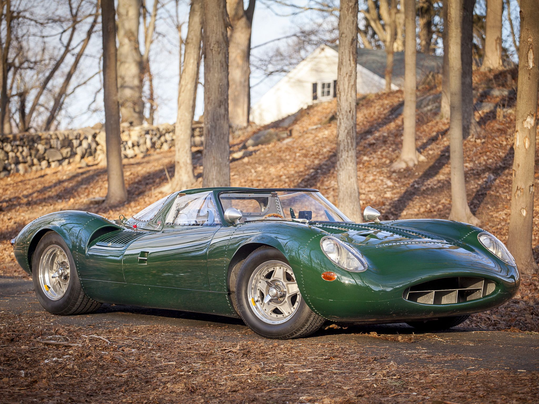 The Jaguar XJ13 Was A Prototype, Race Car Created By Jaguar To Challenge At  Le