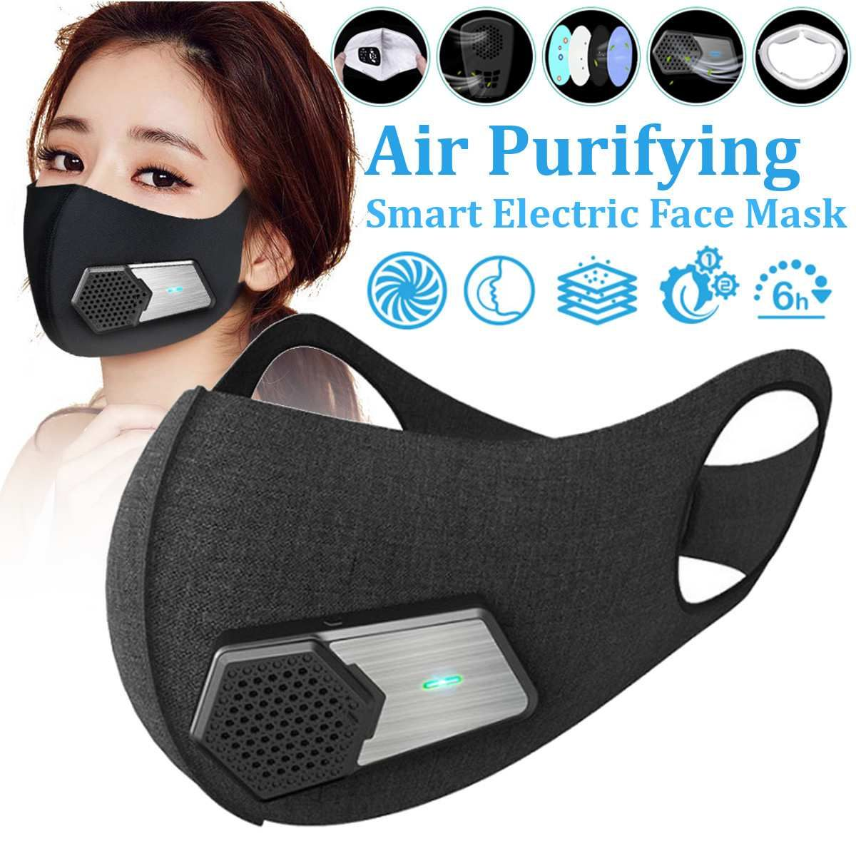 masque respiratoire anti pollution