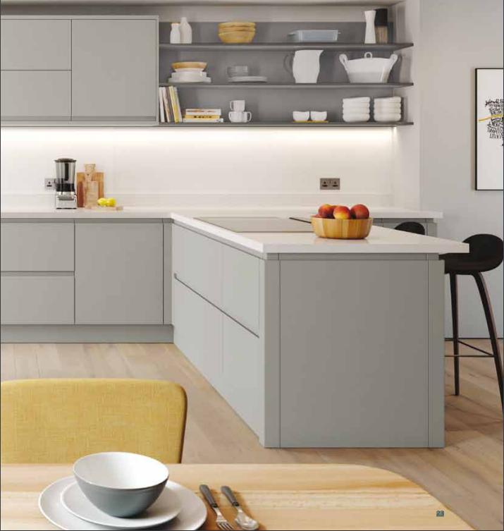 Best Euro Matt Dove Grey Kitchen Range In 2019 Kitchen 400 x 300