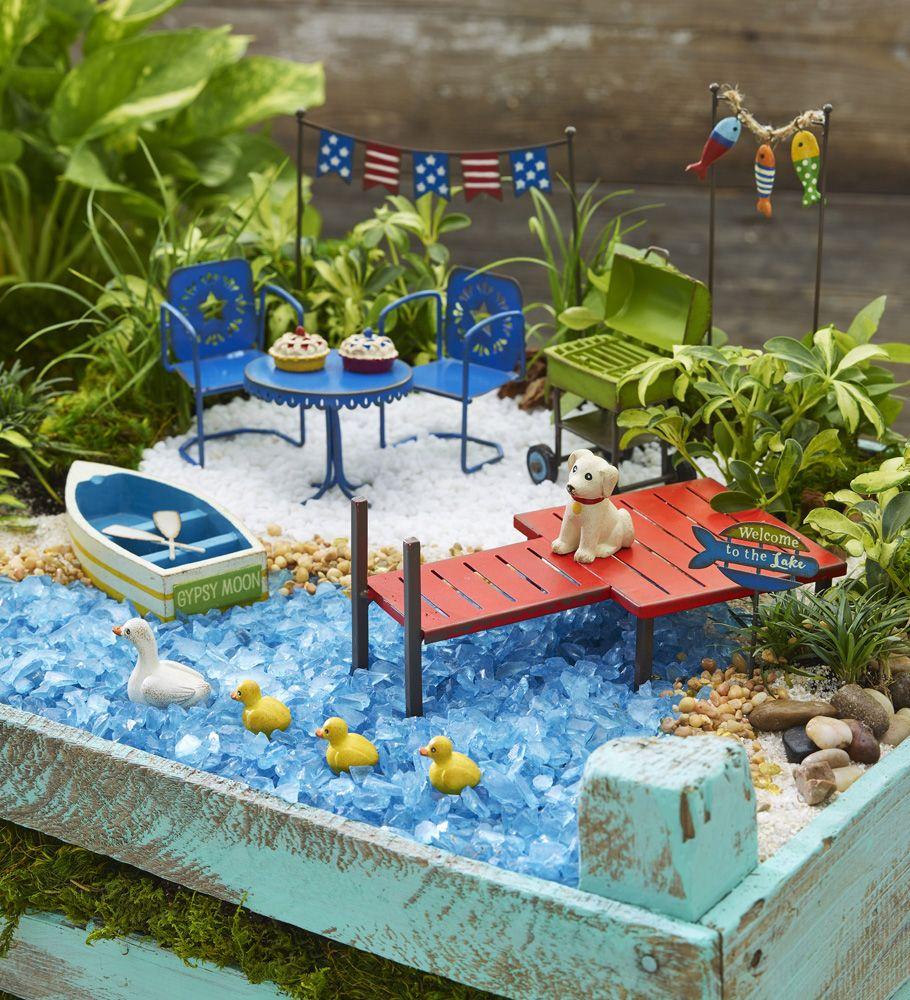 Studio M Sneak Peeks Fairy Garden Crafts Beach Fairy 400 x 300