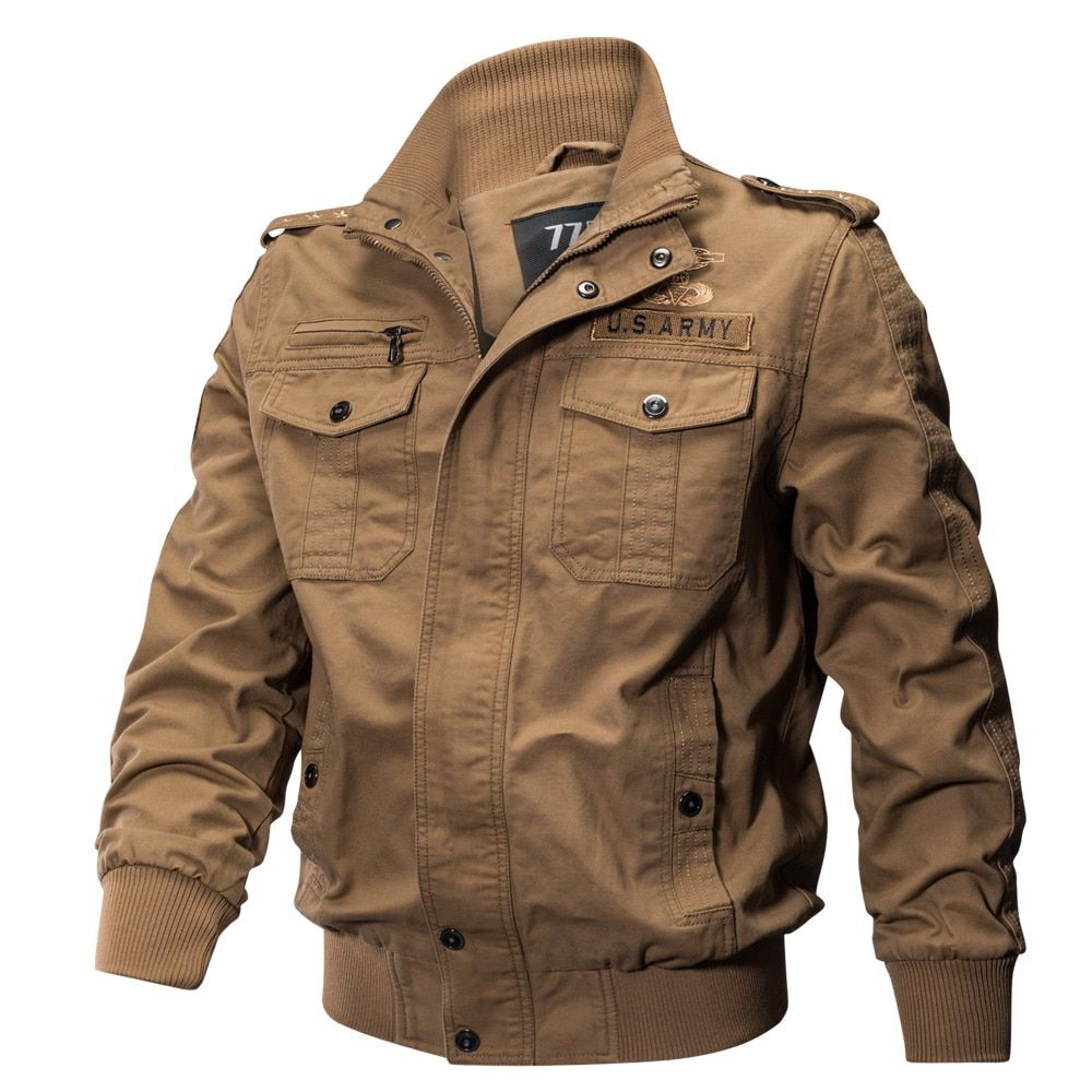 Big Size Military Equipment Jacket Cotton Coat MensJacket