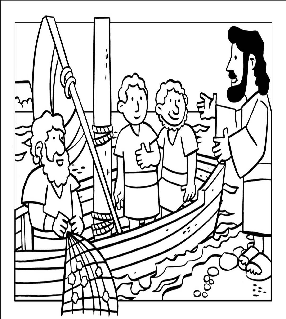 Milagros de Jesús. La pesca milagrosa | manualidades | Pinterest ...