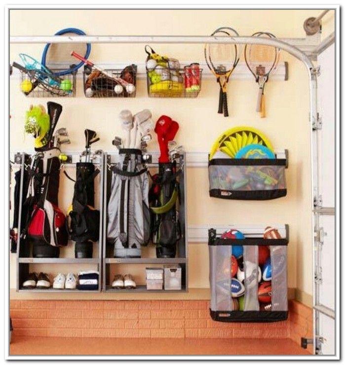 Garage Ball Storage Organizer