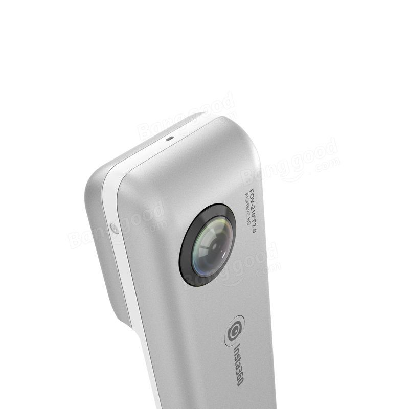 Insta360 Nano 3k Hd Panoramic 210 Degree Dual Wide Angle Fisheye