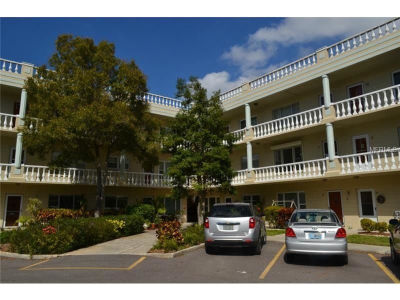 2330 Ecuadorian Way, Unit #46, Clearwater, FL 33763 — Move in ready, light and bright 1 bedroom, 1 bath, 800 square foot condo in the gorgeous, 55+, golf course and pet-friendly community of On Top of the World. Community has an enormous amount of amenities including one 9 hole and one 18 hole golf course, two recreation centers, 2 pools, sauna, fitness center, tennis courts, shuffleboard, racquetball, dances, events, 24 hour guard gated security...you name it, its here! All amenities…
