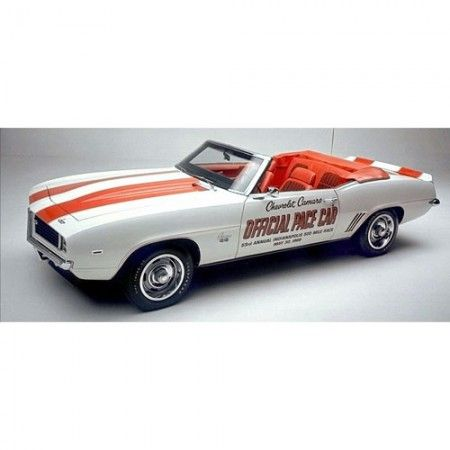 1969 Chevrolet Camaro Ss Indy 500 Pace Car Diecast 124th Model