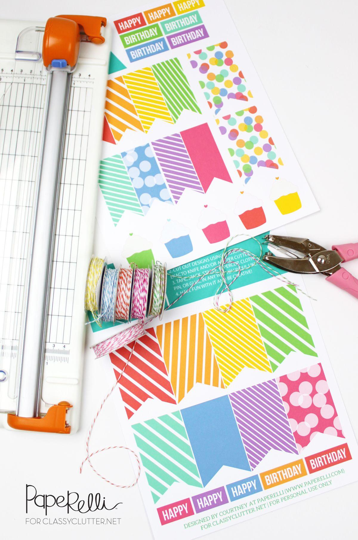 Diy birthday gift tags birthday gifts tutorials and birthdays diy birthday gift tags solutioingenieria Choice Image