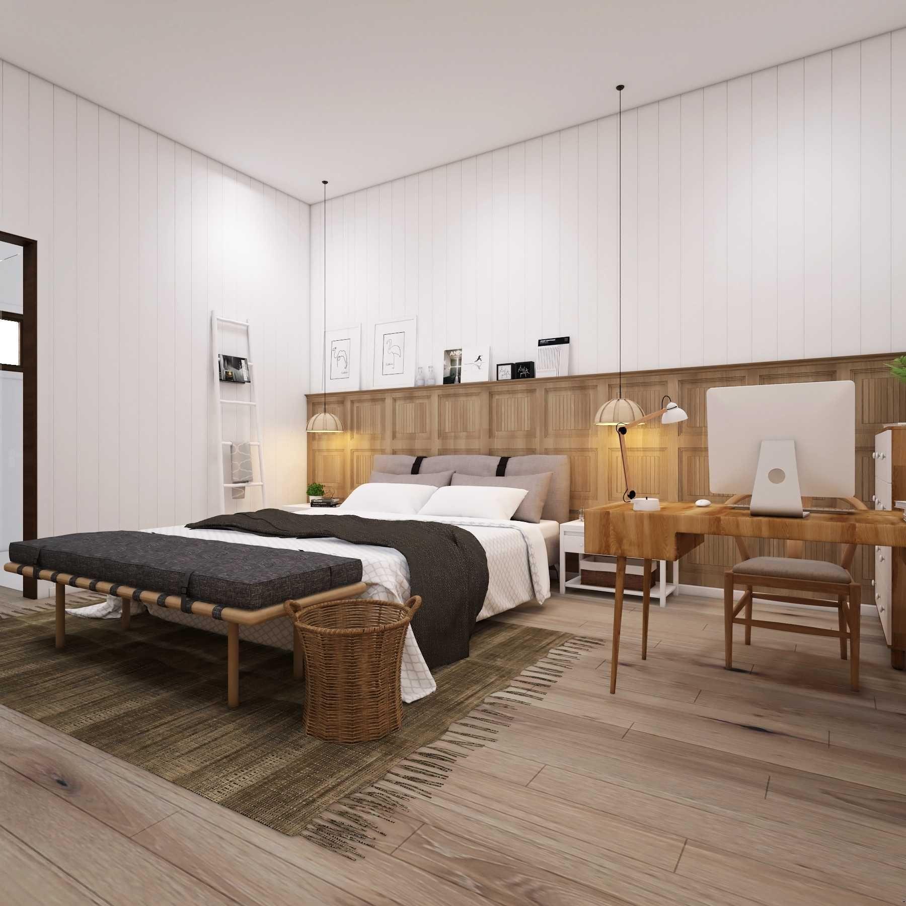 Scandinavia | Bedroom | Scandinavian House | Medan, Sumatra Utara ...