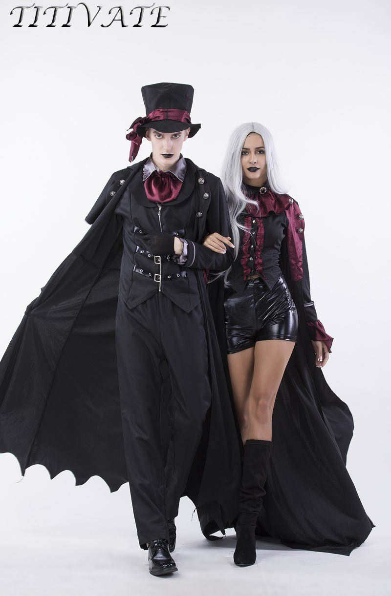 The costume is a great outfit for a masquerade, if you are not afraid of dark forces