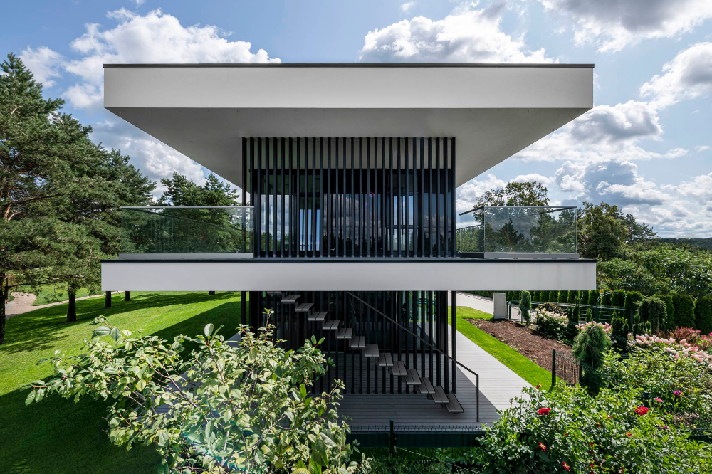 Panoramic View House Archlab House Viewing Panoramic Architecture