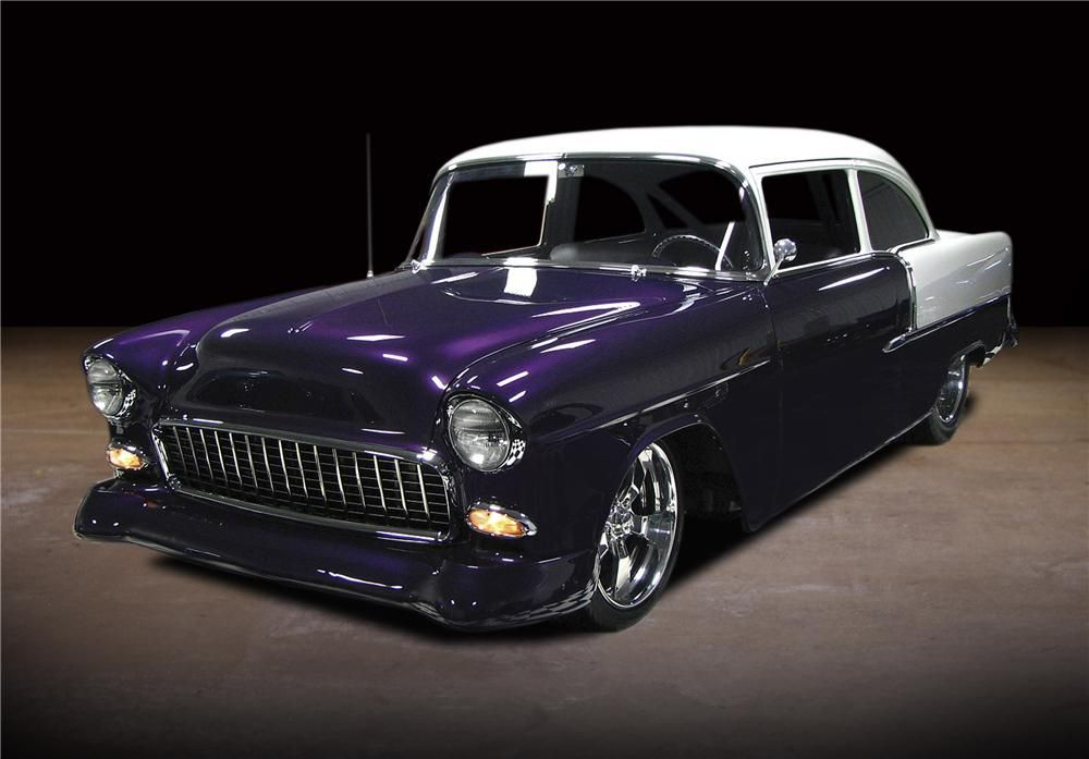 You are viewing one of the best 1955 Chevrolet Pro-touring cars on ...