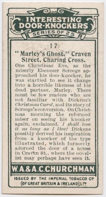 Christmas Carol Meaning.A Christmas Carol Characters From Dickens Cigarette Cards Door