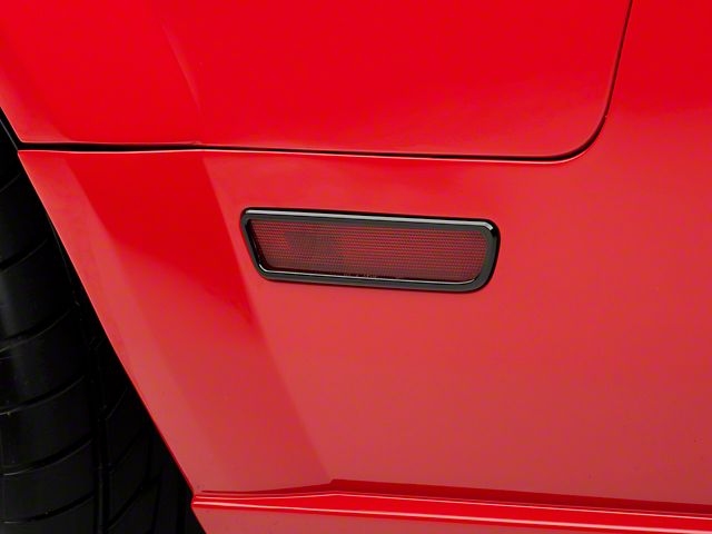 Speedform Mustang Quarter Light Trim Black 52005 05 09 All Black Mustang Mustang 2009 Mustang