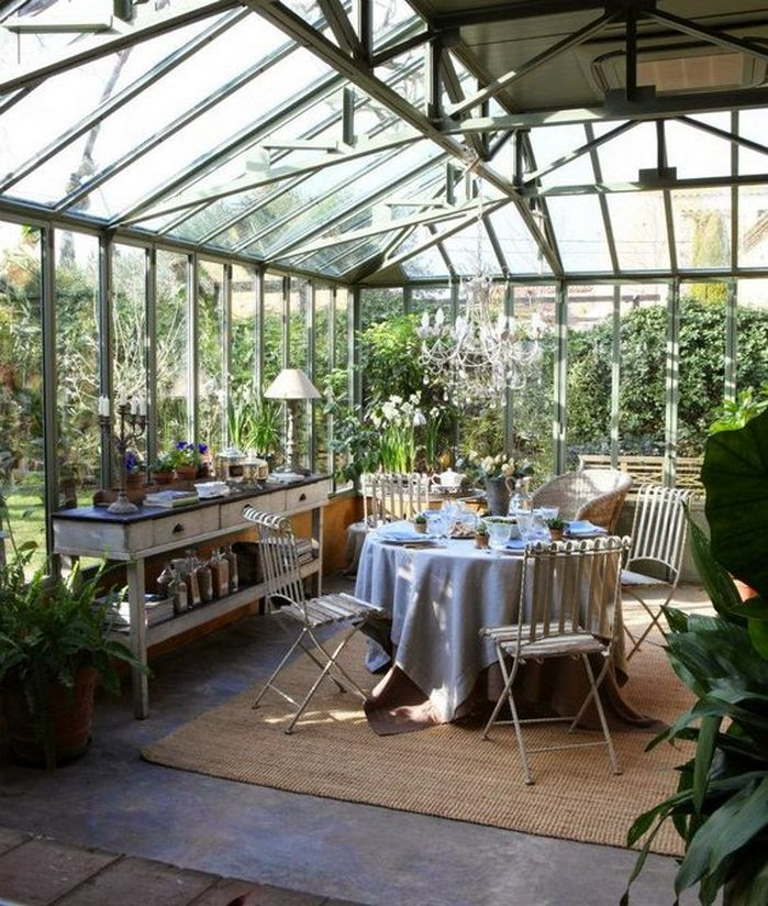 Nice Having A Beautiful Dining Room That Facing Garden Is Such A Great Idea. Ideas