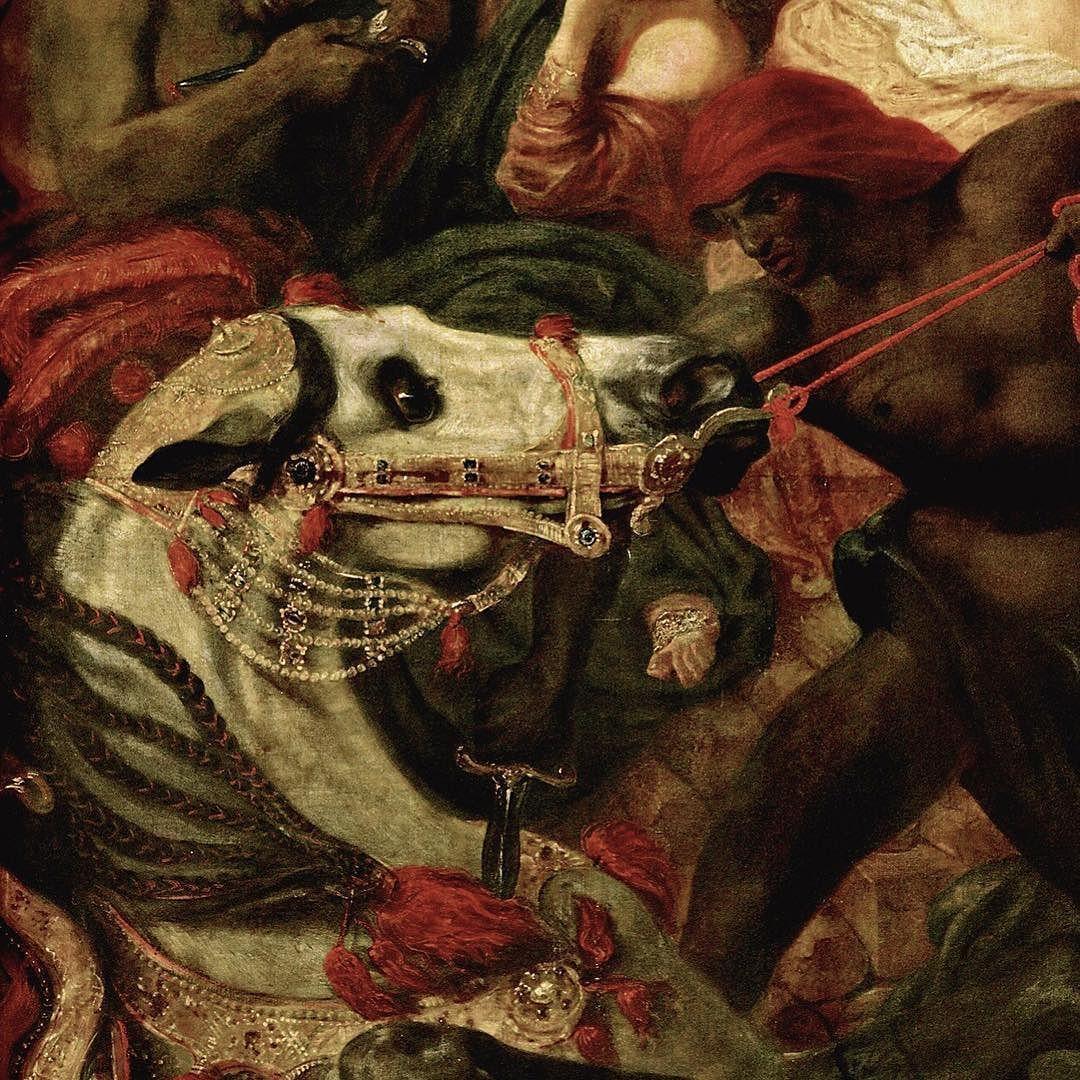 Eugène Delacroix la mort de #Sardanapale 1827 Œuvre ...