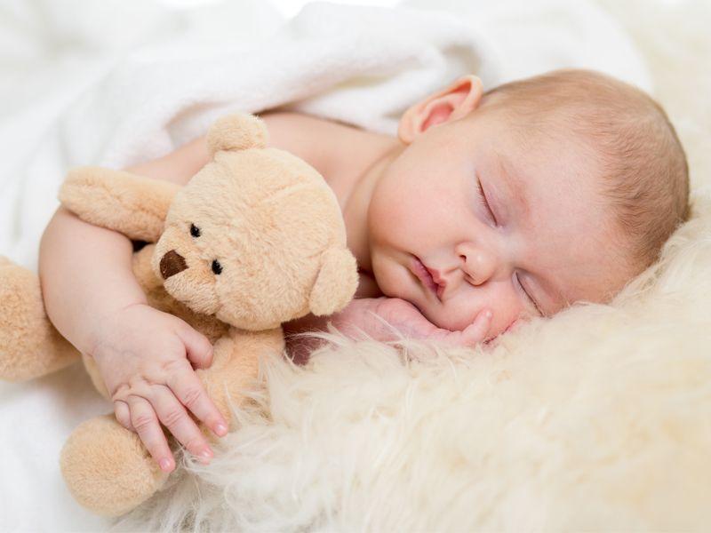 When Will My Baby Sleep Through The Night Getting Baby To Sleep Baby Images Baby Sleeping