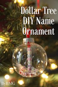 Dollar Tree Diy Name Ornament Christmas Ornaments Diy Kids Kids Christmas Ornaments Dollar Tree Gifts