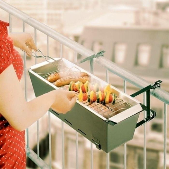 grill kleiner balkon cheap grill kleiner kugelgrill fr. Black Bedroom Furniture Sets. Home Design Ideas