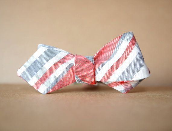 Linen Bow Tie by humanmadeny on Etsy, $38.00