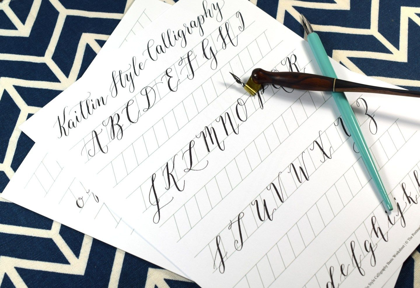 What Is Kaitlin Style Calligraphy