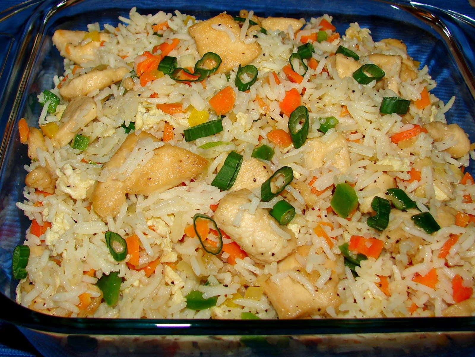 Chinese stir fried rice with a colorful array of vegetables and chinese stir fried rice with a colorful array of vegetables and bounty of rice with a simple chinese recipeschinese food forumfinder Images