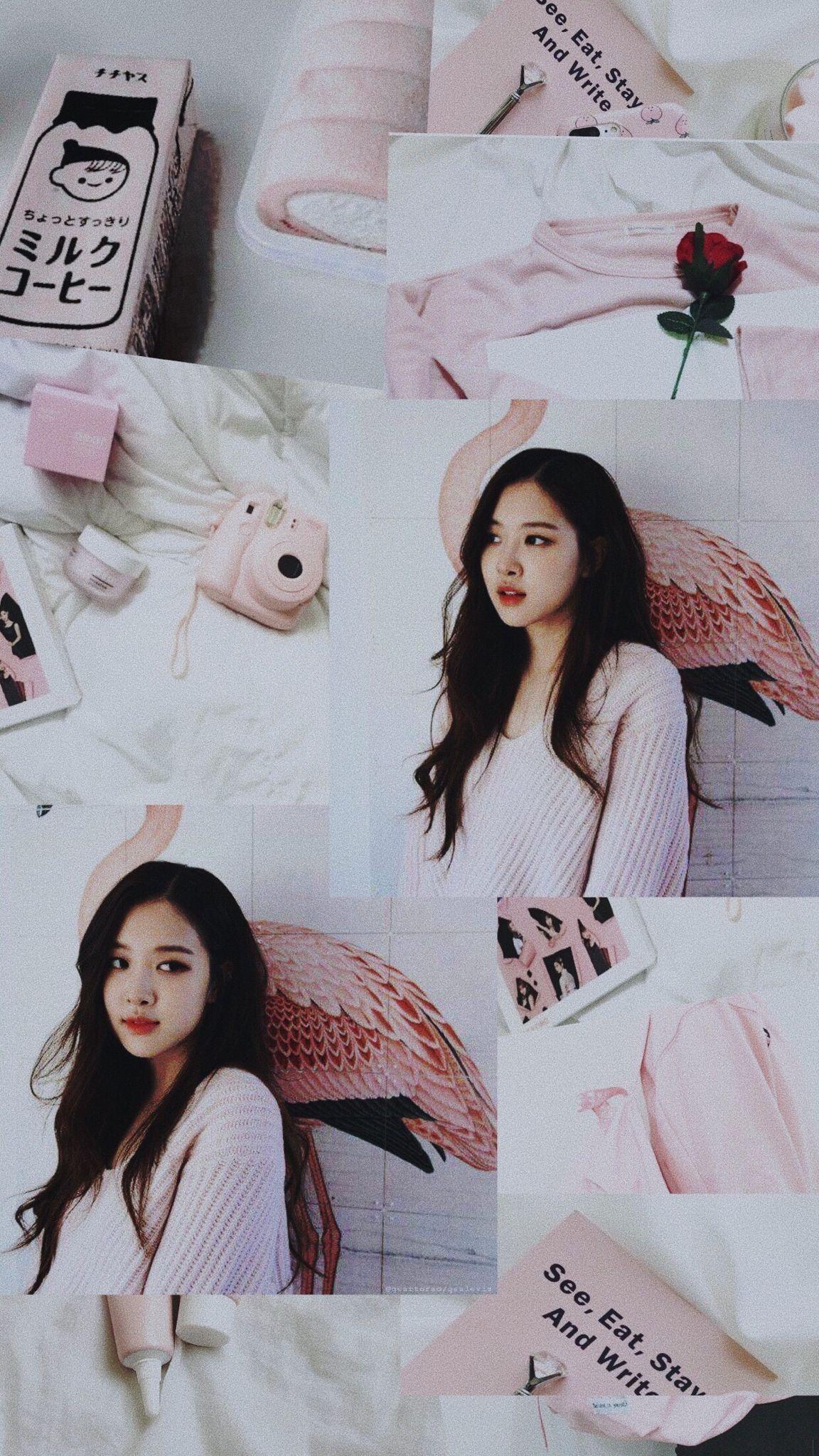 Rose Blackpink Wallpaper Hd 4k In 2020 Instagram Wallpaper Rose Wallpaper Kpop Wallpaper