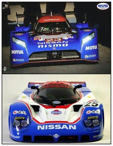 Nissan F1 Race Cars Drag