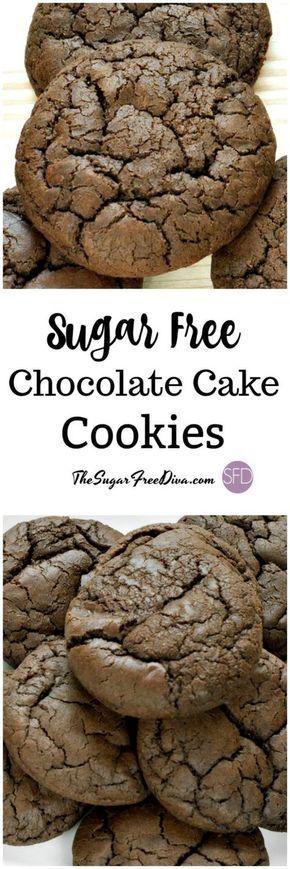 The recipe for Sugar Free Chocolate Cake Cookies