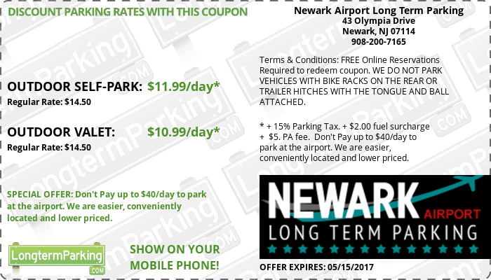 Book Parking Near Newark Airport with SpotHero