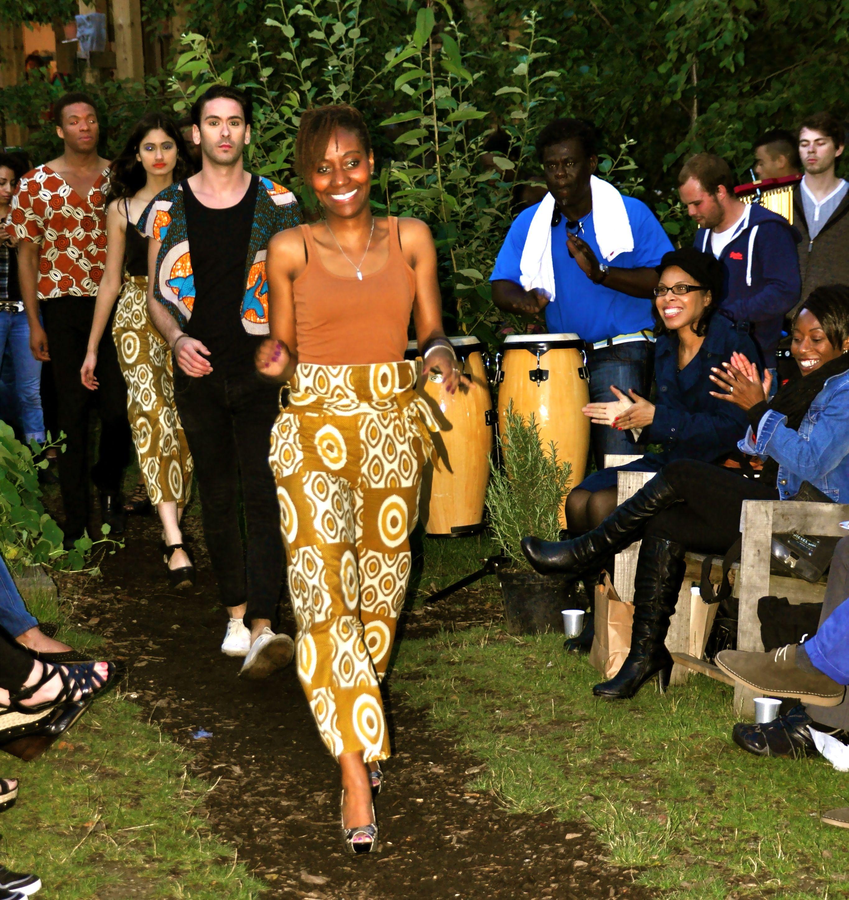 @mutsamutsaa #FashionGardenParty #DalstonEasternCurveGarden #July2012  #FashionShow  #MutsaMutsaaFashion    @mutsamutsaaevnt #MutsaMankola