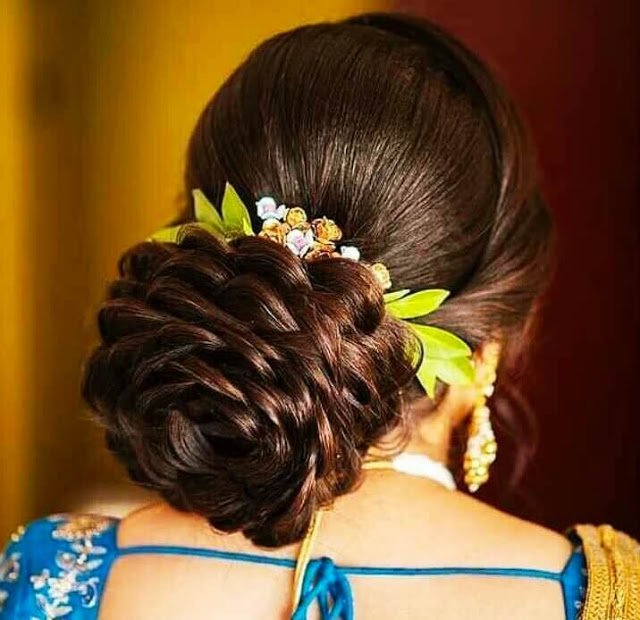 Hairstyle Images For Girls In 2020 Bridal Hair Buns Hair Styles Hairstyle