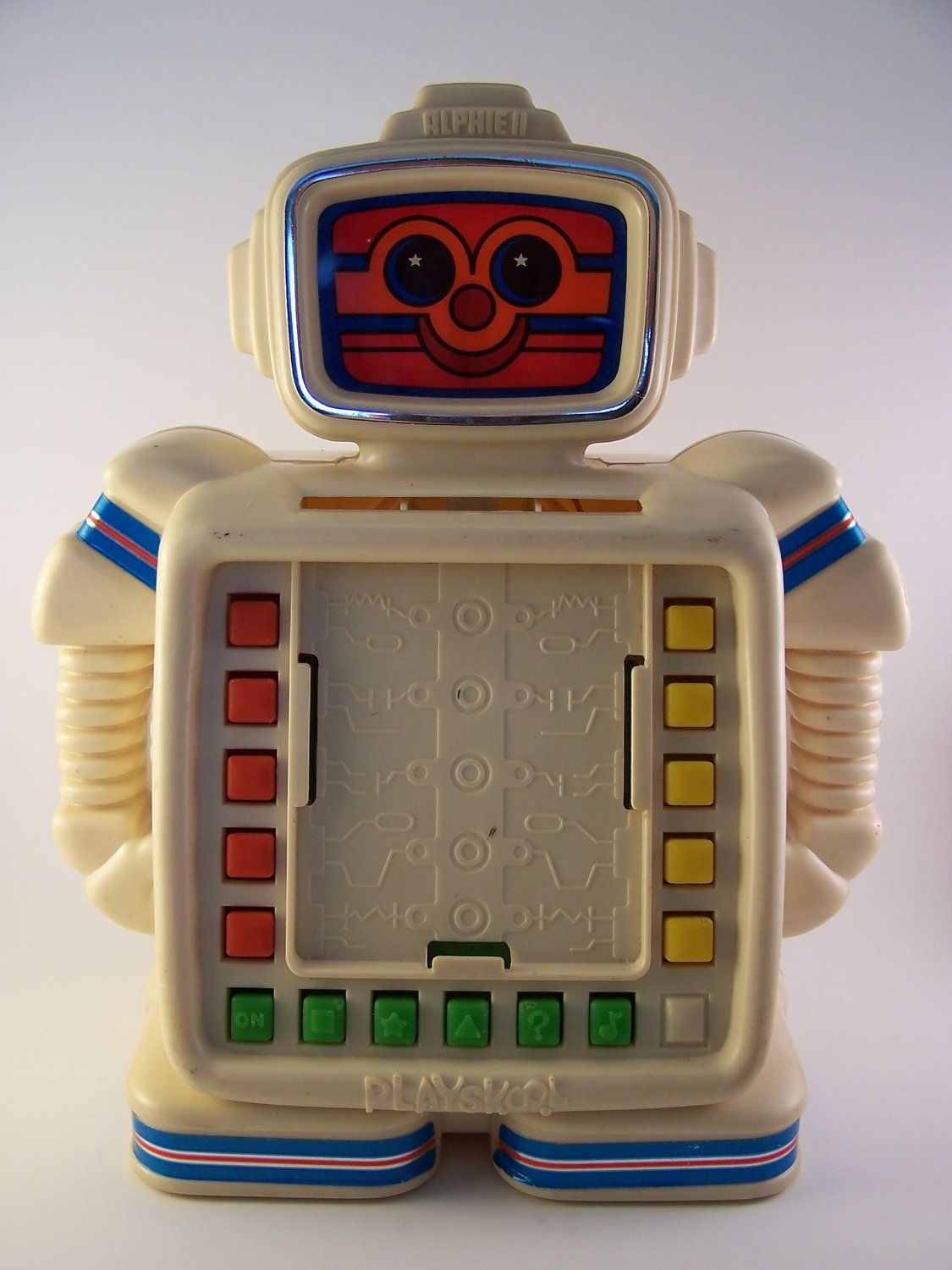 Rare Toys From The 80s : Vintage alphie ii robot toy s etsy and childhood