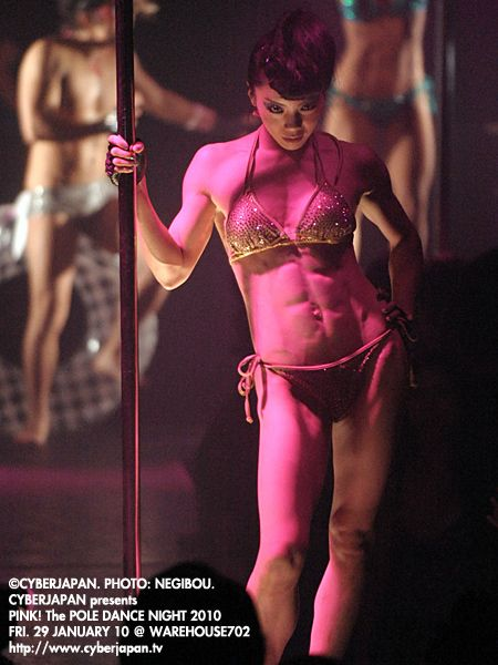 Sexy Japanese pole dancer with - 172.4KB