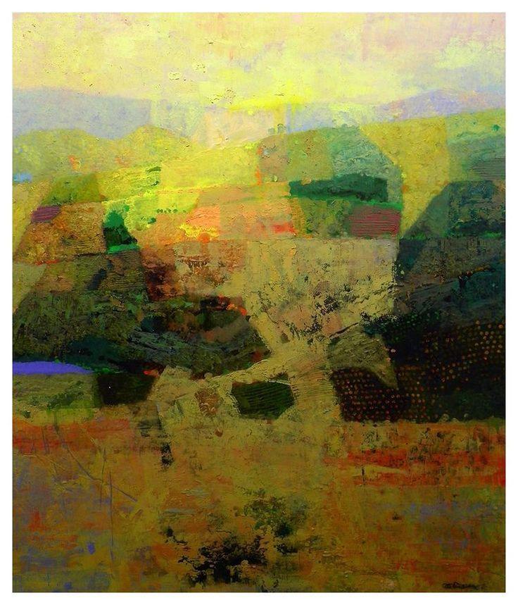 Mark english contemporary artist landscape 19