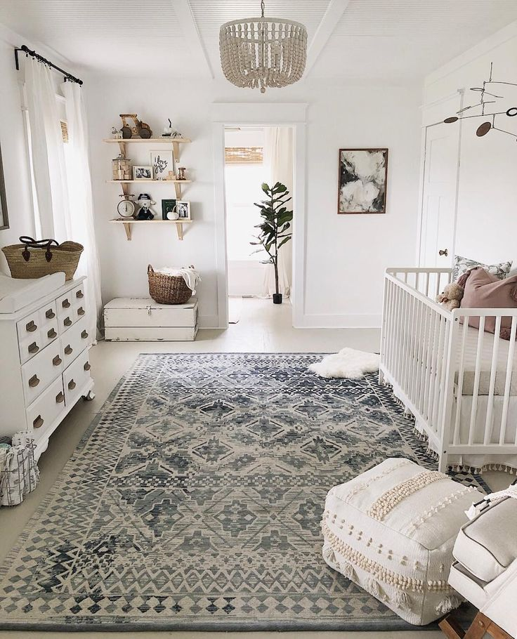 "Nursery?Decor? Baby? Style on Instagram: ""? Love this beautifully styled modern #farmhouse nursery via @creativityinthecornbelt"""