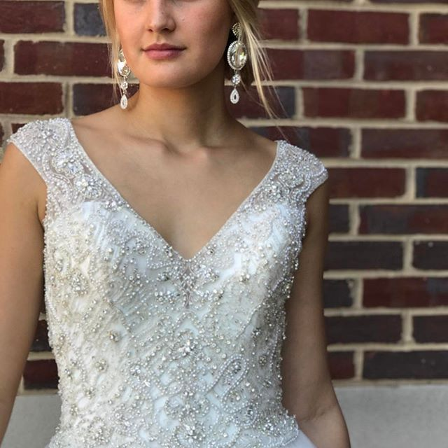 #Details On @madison_james Wedding Dress Love This Look