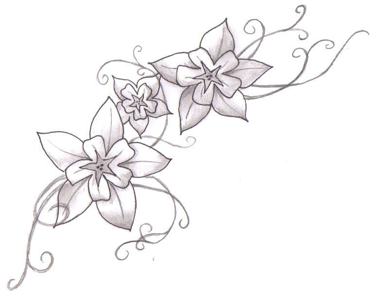 Tattoo Flower Galery Design amp Drawing