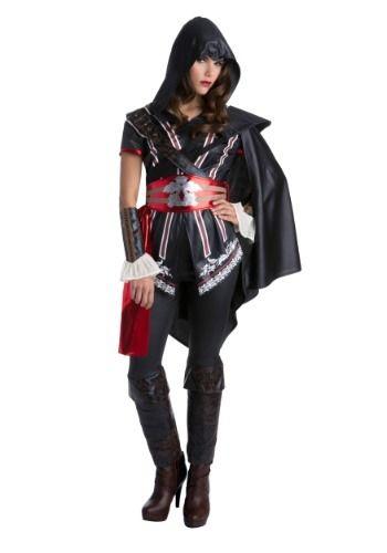 Assassins Creed Master Assassin Ezio Classic Women\u0027s Costume Love - mens halloween ideas
