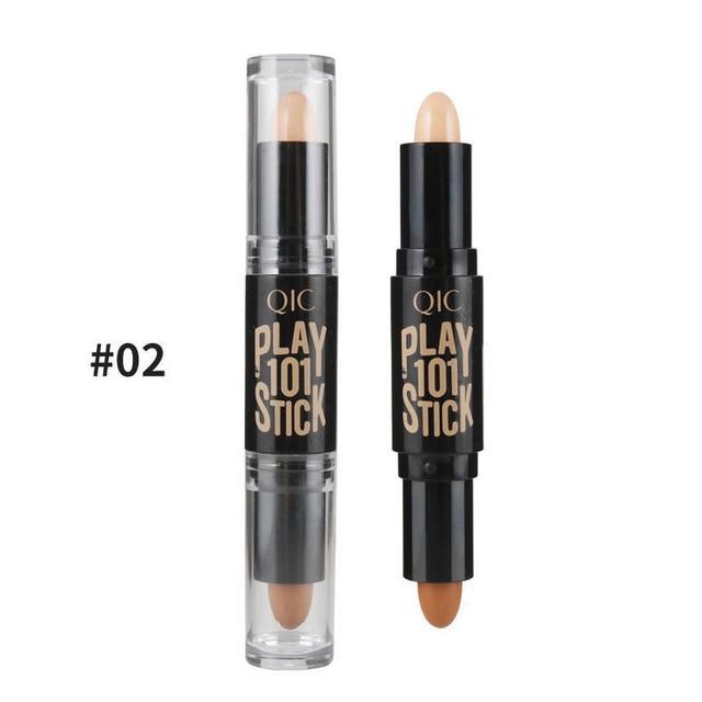 2 In 1 Concealer Bronzer Highlighter Pen Makeup In 2019 Highlighter Makeup Concealer Too Faced Concealer