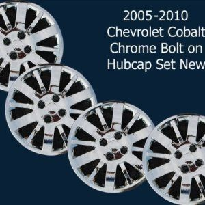 Set of 4 Chrome 15 Hub Cap Wheel Covers for Chevrolet Cobalt