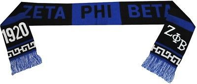 Other Unisex Clothing and Accs 167905: Zeta Phi Beta Divine 9 S2 Knit Scarf -> BUY IT NOW ONLY: $32 on eBay!