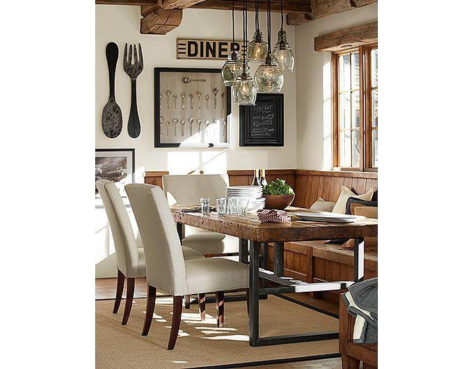 potterybarn | para la casa | pinterest | töpferwaren, rustikale, Esszimmer dekoo