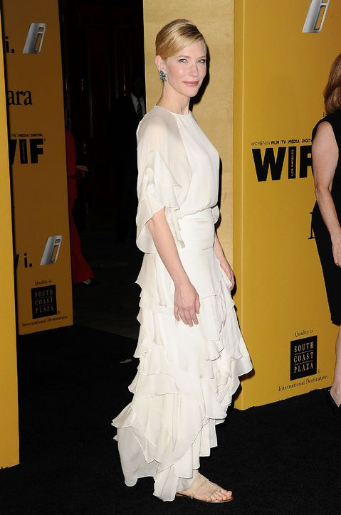 Cate Blanchett Proves That Flat Shoes Totally Work With A Formal