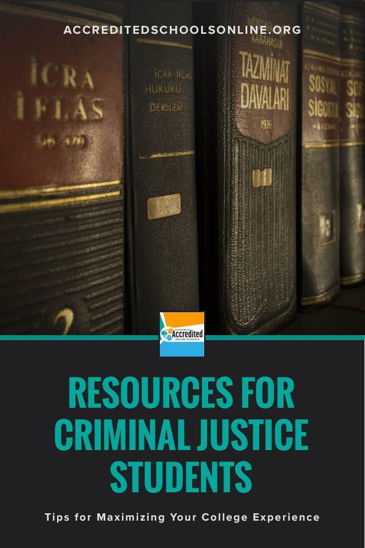 How to excel in a criminal justice program criminal