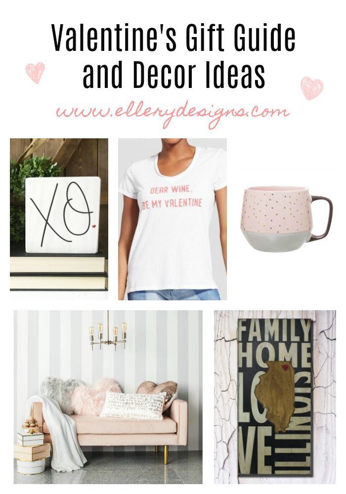 Valentine's Decor Gift Guide – Ellery Designs #valentinesday