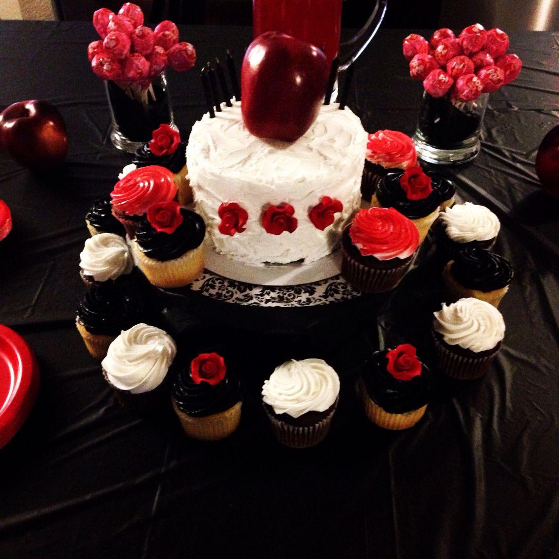OUAT Evil Queen Birthday cake Regina Mills bday Pinterest