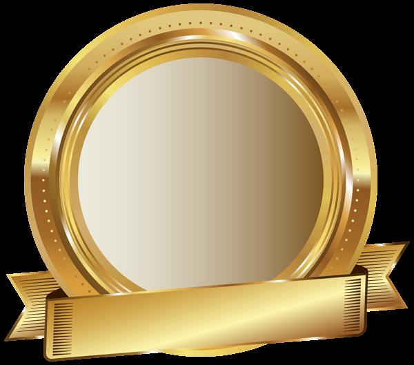 Golden Seal PNG Clip Art Image Panglici Pinterest