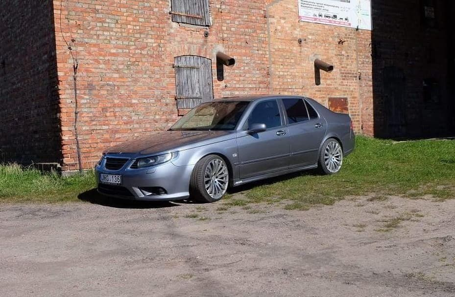 Saab North On Instagram Lukanis1 Daily Sent In This Awesome 2008 Saab 9 5 Vector 1 9tid With A 9 3 Front Bumper